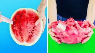 20 YUMMY FRUIT HACKS AND IDEAS