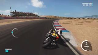 Ps4 Ride 2 Hotlap Almeria Gameplay Time attack Yamaha R1M SBK Superbike 1:27:838