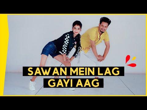 sawan-mein-lag-gayi-aag-dance-video- -ginny-weds-sunny- -mika-,-neha-&-badshah- -uttam-and-neha