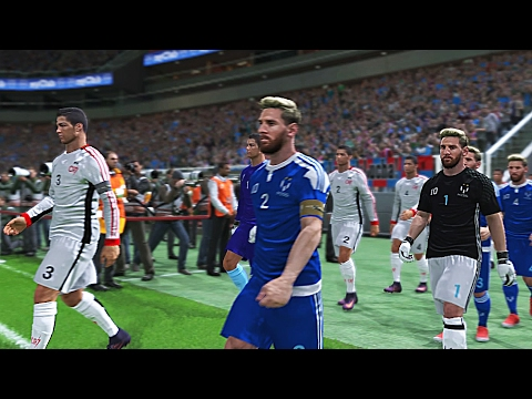 PES 2017 - Team Messi Vs Team Ronaldo - PS4 Gameplay HD