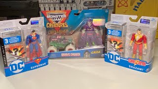 DC Heroes Unite & Monster Jam Creatures Review !!!