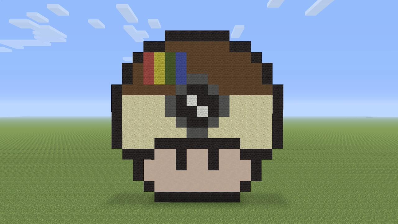 Minecraft Pixel Art Instagram Mushroom Youtube