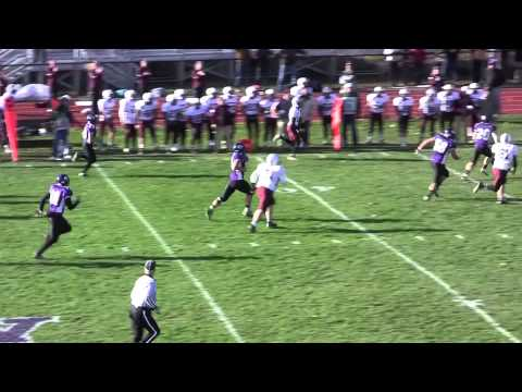 Hunter Smith punt return at Waterville