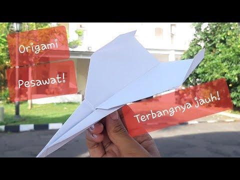 Cara Membuat Origami Pesawat Terbang Bisa Terbang Jauh