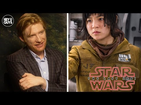 Domhnall Gleeson on Kelly Marie Tran Twitter Backlash  Star Wars: The Last Jedi