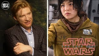Domhnall Gleeson on Kelly Marie Tran Twitter Backlash - Star Wars: The Last Jedi