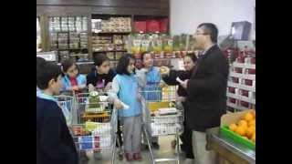 MUTLU KOLEJİ shopping ingilizce