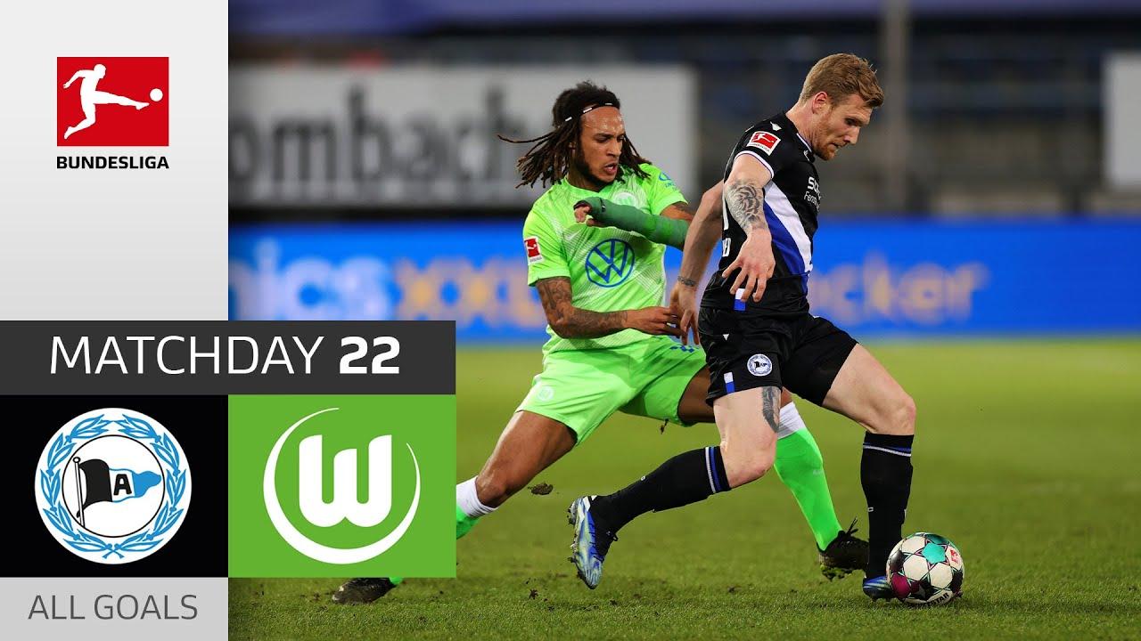 Download Wolfsburg on Fire! 6th straight clean sheet   Bielefeld - VfL Wolfsburg   0-3   All Goals   MD 22