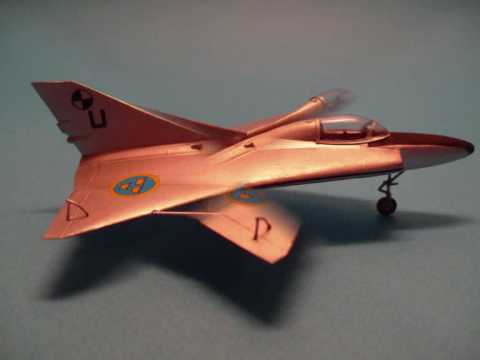 DUJIN 1/72 Saab 210 / 2 'Lill-Draken' - A Resin Building Review