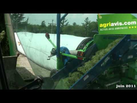 Julien Roy agriculteur au Quebec donne son avis sur le Ag-Bag G6170