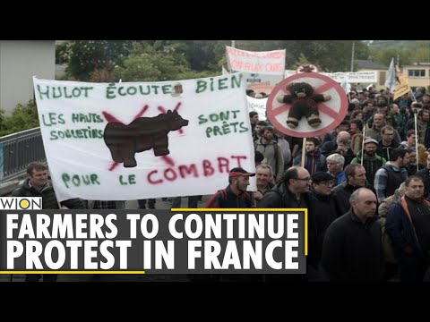 Protest intensifies as France cancels agriculture fair   Paris Farmers Protest   Latest World News