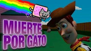 MUERTE POR GATITO! |  C/ Luh,macu y exo | Garry`s Mod