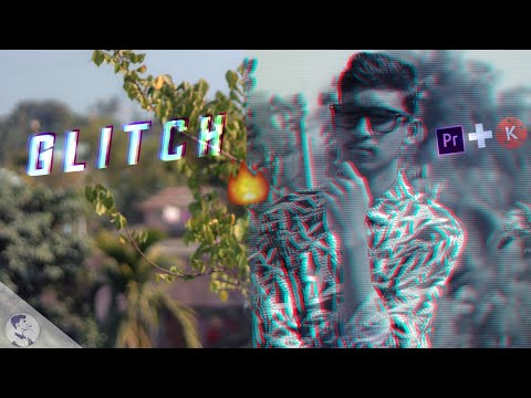 How to GLITCH EFFECT your footage Like The Ajaira LTD | kinemaster |  premiere pro | Prottoy Heron