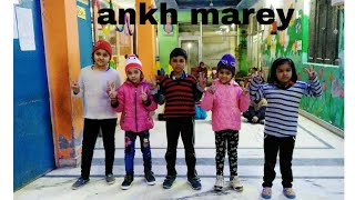 Ankh marey || simbha 11 kids dance video || choreography by ak dancer
