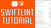 SwiftLint (Configuring SwiftLint with Xcode 9 and CocoaPods