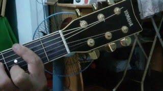 Cho quên thú đau thương (Main dans la main) - Guitar