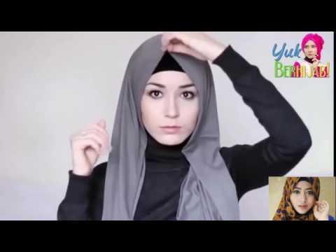Tutorial Hijab Pashmina Satin Velvet Untuk Sehari Hari Youtube