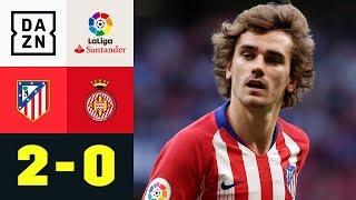 Videobeweis und Antoine Griezmann festigen Platz 2: Atletico Madrid - Girona 2:0 | LaLiga | DAZN