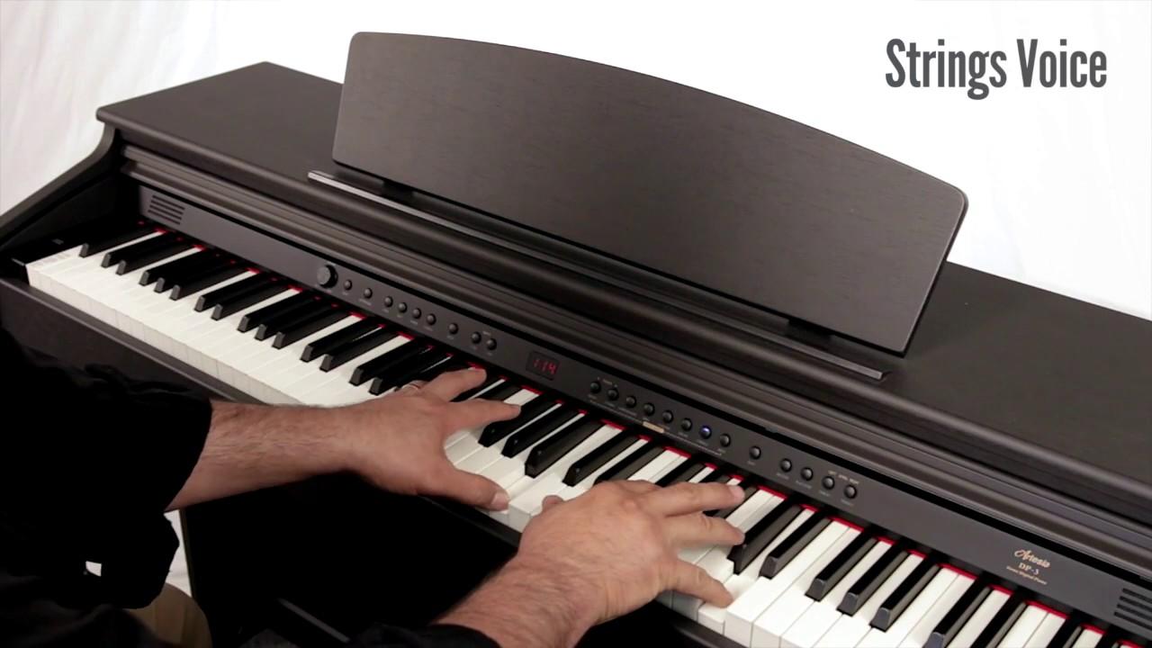 d0e4f58bbeb Artesia DP 3 plus Digital Piano Feature Overview - YouTube