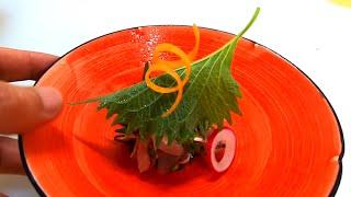 【和食】鮗 糸作り 盛り方【関斉寛さんオマージュ】