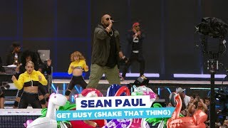 Sean Paul - 'Get Busy (Shake That Thing)' (live at Capital's Summertime Ball 2018)