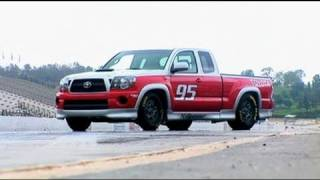 "video thumbnail of SEMA 2010: Toyota Tacoma X-Runner RTR (""Ready-to-Race"") special edition - GTChannel"