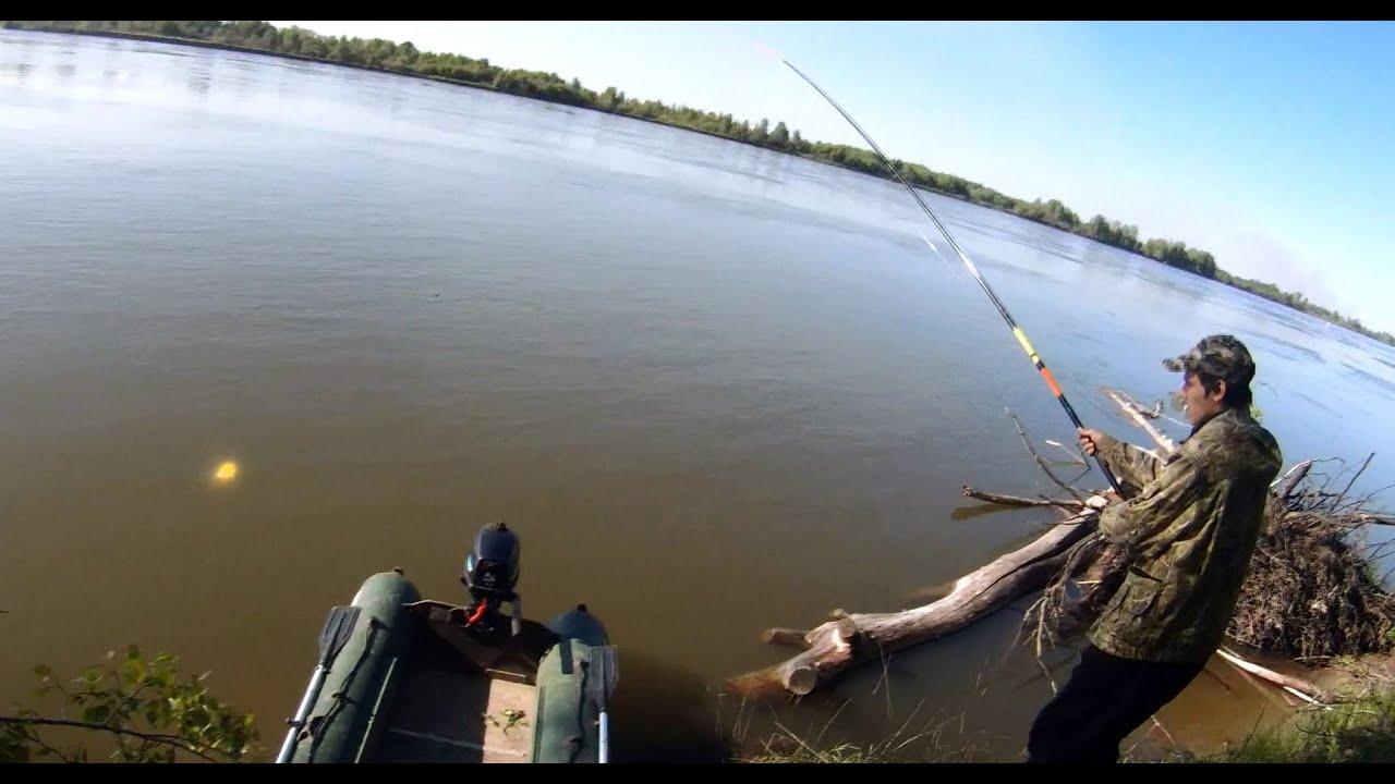 ловля чебака с лодки