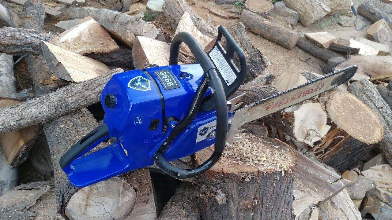 Holzfforma Farmertec G660 chainsaw unboxing