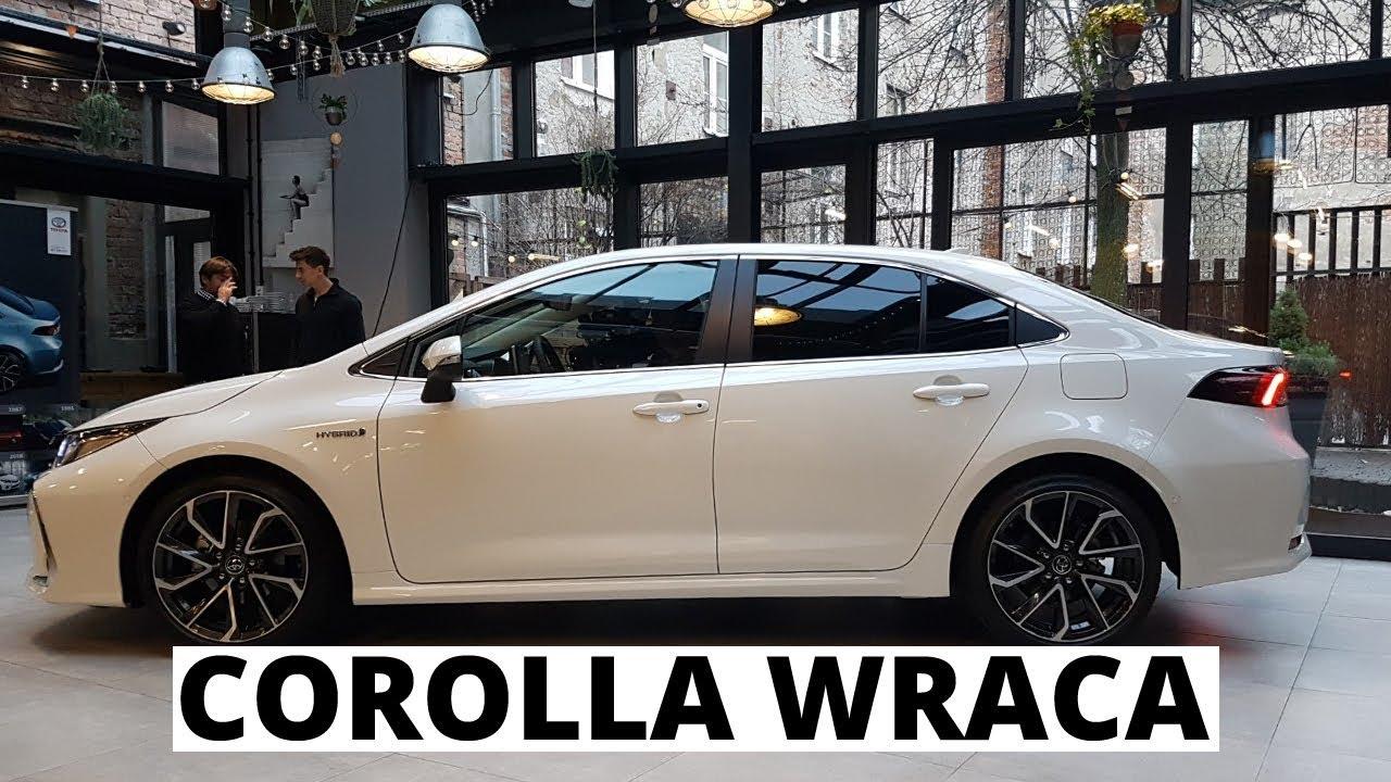 Nowa Toyota Corolla Vlog Z Prezentacji Sedana I Kombi Youtube