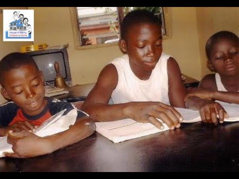 Shelter for homeless children: House of Mercy Children's Home, Lagos, Nigeria (HOM)