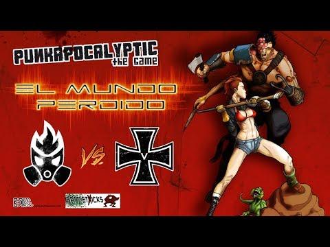Punkapocalyptic #5 EL MUNDO PERDIDO (Sangre Negra vs VR)