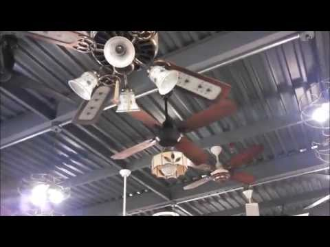 Fanimation Fan Museum: Vintage Ceiling Fan Demonstrations, one at a time