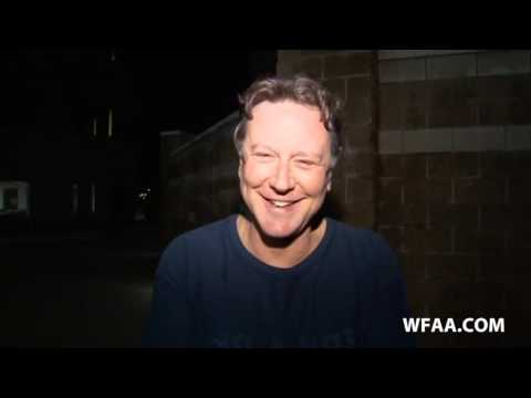 Actor Judge Reinhold speaks to WFAA after leaving jail