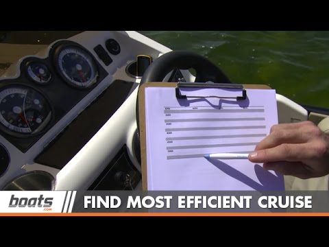 How to Find Most Efficient Cruising Speed