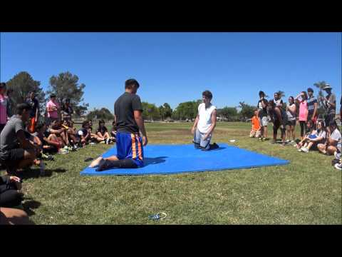 San Diego Academy Olympic Day 2014 Sock Wrestling
