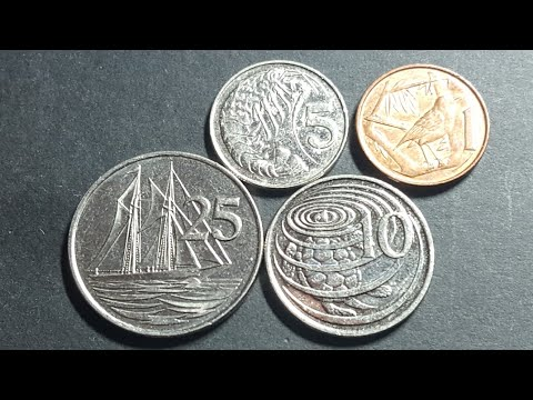 Cayman Islands circulating coins