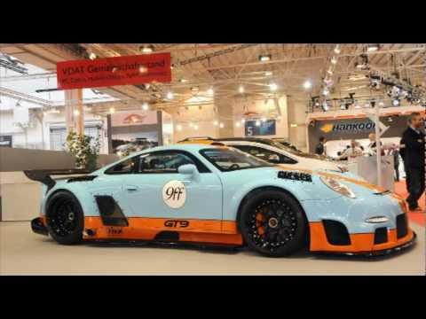 All new 9ff Porsche GT9 CS Supercar