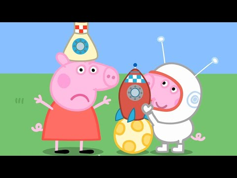 Kids Videos 🚀 Peppa Pig's Fun Time At The Space Museum | Peppa Pig Official | 4K | New Peppa Pig