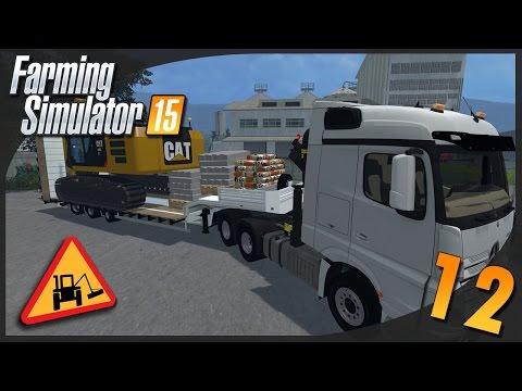Farming Simulator 15 | Entretien Communal #12 Construction d'un parking 1/2