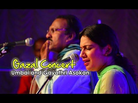 Gazal Concert by Umbai and Gayathri Asokan Part 2