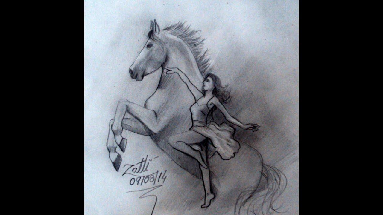 Cavalo Como Desenhar Youtube