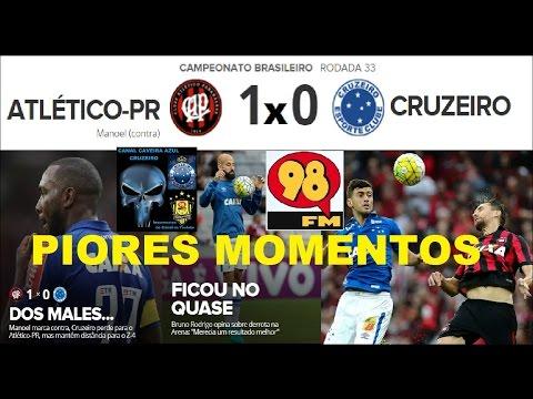 ATLÉTICO-PR 1 x 0 CRUZEIRO Melhores Momentos Transmissão 98FM 98 Live 98FC Brasileirão 2016 33ª Rod