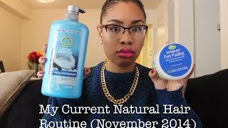 My Updated Natural Hair Care Routine! (2014) Thumbnail