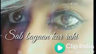Raaz aankhein teri lyrics whatsapp status 30sec video