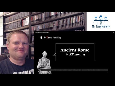 A History Teacher Reacts | Rome in 20 Minutes