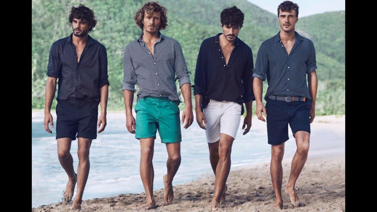 Outfit De Playa Para Hombres