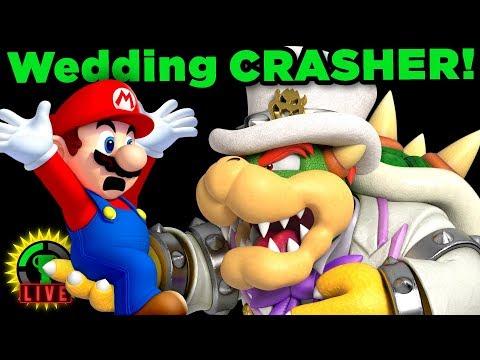 Mario CRASHES Bowser's Wedding! | Super Mario Odyssey (Ending)