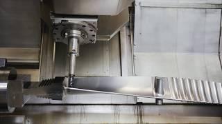 Manufacturing of Turbine Blades in a M50-G MILLTURN