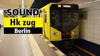 [Sound] BVG Hk-zug/U-Bahn Berlin//Bombardier MITRAC IGBT-inveter//02.2016