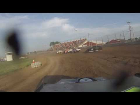 Grant County Speedway 6 25 2016 Heat 2